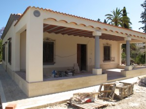 Rehabilitation of villa in Elche